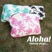 Aloha Collection/アロハコレクション Palmtree クラッチ