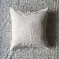 Khadi Cutwork Cushion Cover (Birds)