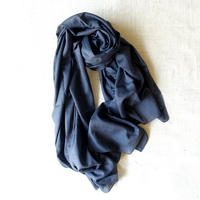 Cotton Silk Stole (Blue Gray)