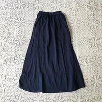 Gara-bou x Khadi Skirt Natural Dyed (Indigo)