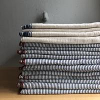 Organic Khadi Sheets (Indigo Selvedge / Indigo Hickory)