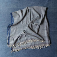 Organic Khadi Basket Throw L 150×240 (Indigo Chambray)