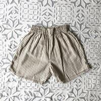 OG 2x1 Khadi Kid's Short Pants ( Charcoal Pin Stripe )