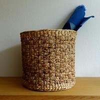 Checkered Basket (L)