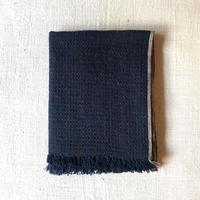 Gara-bou Blanket Stole Kabe 100×190cm (Midnight)
