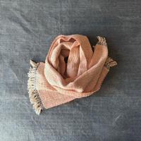 Gara-bou Muffler Stole Kabe 22×190cm (Salmon pink)