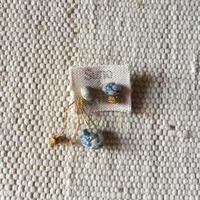 Cotton Stone Asymmetry Pierce (Light Indigo)