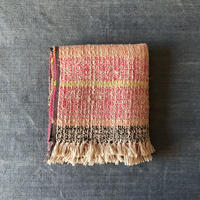 Gara-bou Medium Stole Kabe 50×190cm (Mix border - Pink)