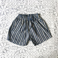 OG 2x1 Khadi Kid's Short Pants ( Madras )