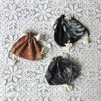 Cotton Silk Drawstring Bag (S)
