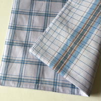 Lungi White Plaid Place Mat #O