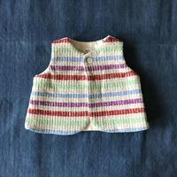 Gara-bou Baby Vest (Rainbow Border)