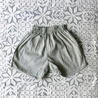 OG 2x1 Khadi Kid's Short Pants ( Indigo Hickory )