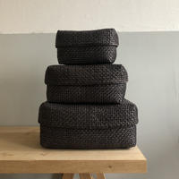 Kottan Basket S (Natural dyed black)