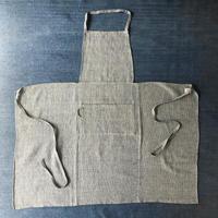 Stitched Khadi Full Apron (Indigo)