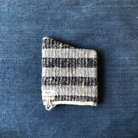 Gara-bou Kitchen Mitten (Indigo Border)