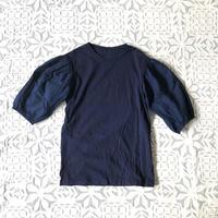 Gara-bou x Khadi T-shirts  Natural Dyed (Indigo)