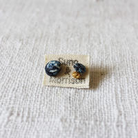 Cotton Stone Petit Pierce (Dark Indigo)