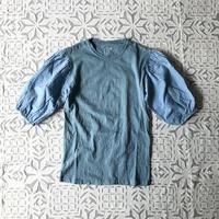 Gara-bou x Khadi T-shirts  Natural Dyed (Light Indigo)
