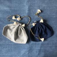 Khadi Drawstring Bag (L)