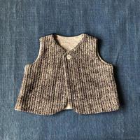Gara-bou Baby Vest (Charcoal )