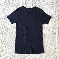 Gara-bou Short Sleeve T-shirts  Natural Dyed Unisex ( Indigo )