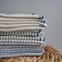 Organic Khadi Pillow Case (Indigo Selvedge / Indigo Hickory / Charcoal Pin Stripe)