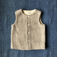 Gara-bou kids Vest (Brush sand)