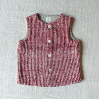 Gara-bou kids Vest (Brush Red)