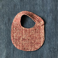 Gara-bou Baby Bib (Brush red)