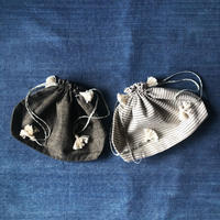 Khadi Drawstring Bag (L)