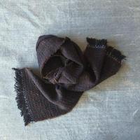 Gara-bou Muffler Stole Kabe 22×190cm (Dark brown)