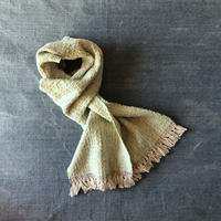 Gara-bou Muffler Stole Kabe 22×190cm (Light green)