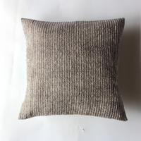 Gara-bou × Khadi Cushion Cover (Gray)