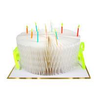 Birthday Cake Honeycomb Card