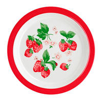 Wild Strawberry Meramine Plate