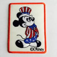 ワッペン Mickey mouse