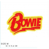 BOWIE ワッペン