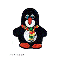 ペンギン ワッペン