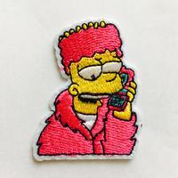 ワッペン  Bart simpson