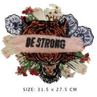 BE STRONG ワッペン