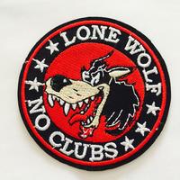 ワッペン lone wolf