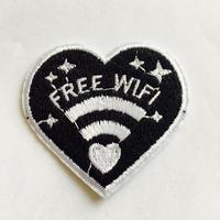 ワッペン free wifi