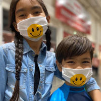 ハンドメイドマスク(3layer)KIDS SMILE