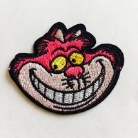 ワッペン Cheshire  cat