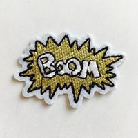 ワッペン Boom