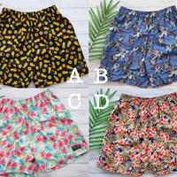 即納 Men's beach short pants Tropical