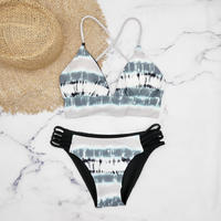即納 A-string reversible long under bikini Marble