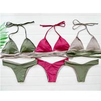 即納 Bicolor reversible desing bikini 3 color