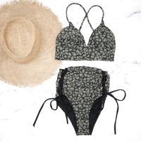 即納 A-string high waist long under bikini Paint